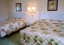 El Patio Motel - Key West - Kamar Tidur