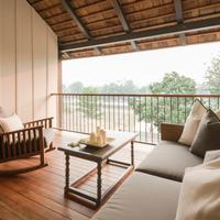 sala lanna Chiang Mai river view deluxe balcony