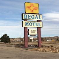 Regal Motel in Las Vegas, New Mexico Hotel Entrance