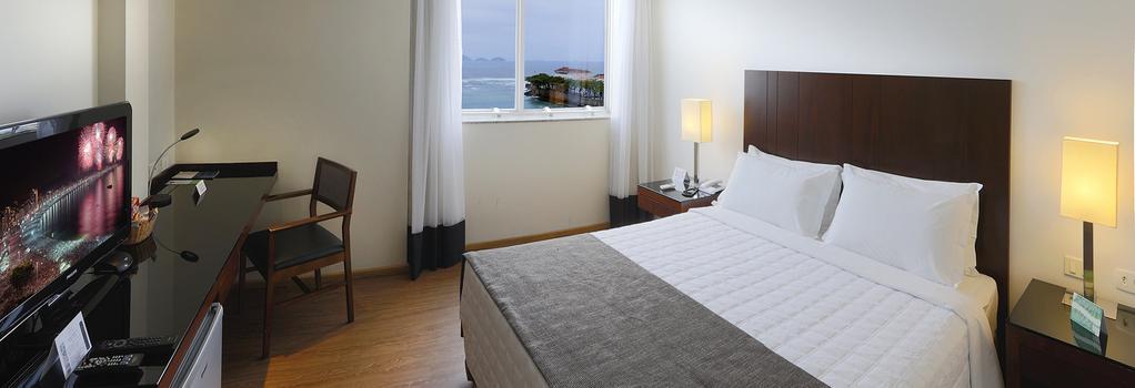 Orla Copacabana Hotel - Rio de Janeiro - Bedroom