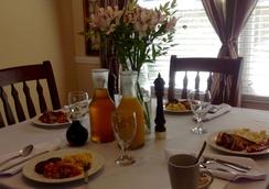 The Hargett Bed and Breakfast - Raleigh - Ruang makan