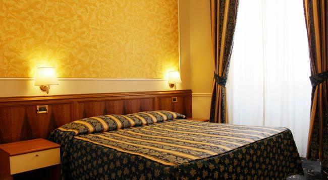 Hotel Milazzo - Rome - Bedroom