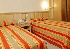 Hotel Atlantico Copacabana - Rio de Janeiro - Kamar Tidur