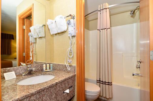 Quality Inn & Suites Seattle Center - Seattle - Kamar Mandi