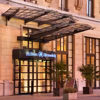 Hilton Brussels City Hotel Entrance