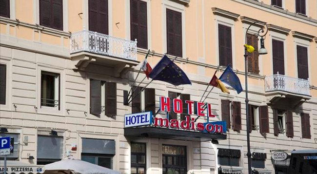 Madison Hotel - Rome - Building