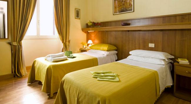 Hotel Altavilla - Rome - Bedroom