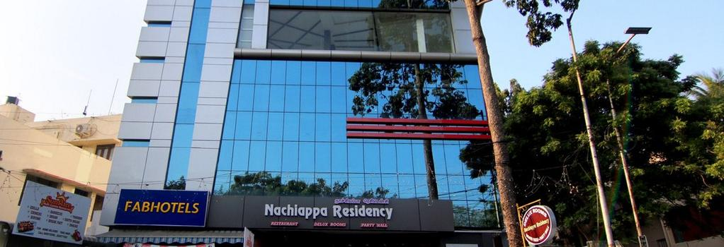 FabHotel Nachiappa RA Puram - Chennai - Building