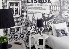 The Art Inn Lisbon - Lisboa - Kamar Tidur