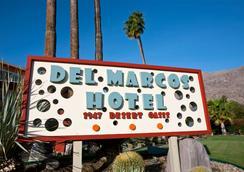 Del Marcos Hotel - Palm Springs - Pemandangan luar