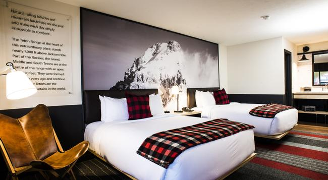 Mountain Modern Motel - Jackson - Bedroom