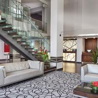 Matrix Hotel Lobby Sitting Area