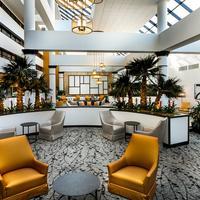 Wyndham Houston West Energy Corridor Lobby and Atrium