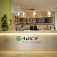 H+ Hotel München City Centre B & B Reception