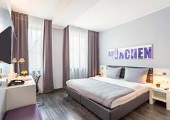 Rilano 24/7 Hotel München City - Munchen - Kamar Tidur