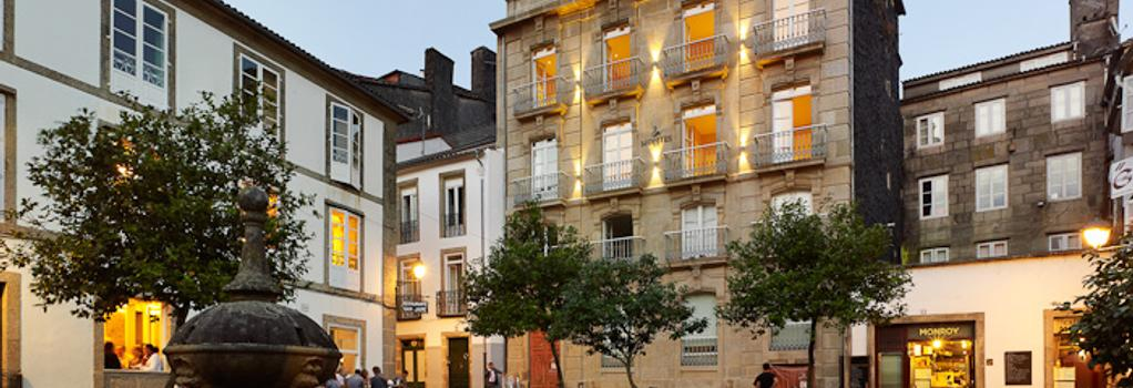 Hotel Montes - Santiago de Compostela - Building