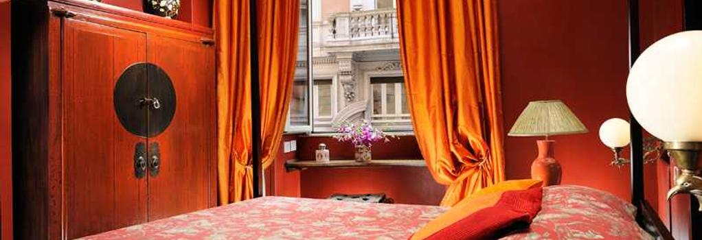 Casa Heberart Guest House Capo Le Case - Rome - Bedroom