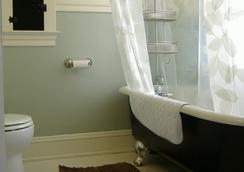 Bluebird Guesthouse - Portland - Kamar Mandi