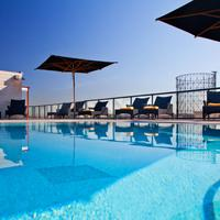 H10 Roma Citta Outdoor Pool