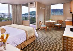 Queen Kapiolani Hotel - Honolulu - Kamar Tidur