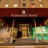 The Lancaster Hotel Exterior detail