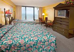Hawaiian Inn Daytona Beach by Sky Hotels and Resort - Daytona Beach - Kamar Tidur
