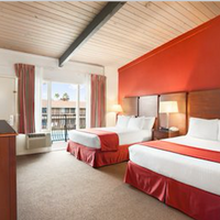 Ramada San Diego North Hotel & Conference Center Standard Two Queen Bed Room