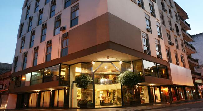 Provincial Plaza Hotel - Salta - Building