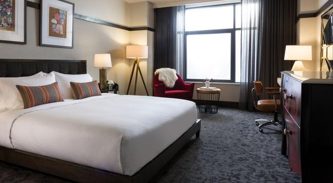 Kimpton Journeyman Hotel - Milwaukee - Bedroom