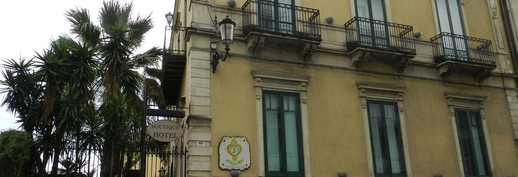 Boutique Hotel La Vecchia Palma - Catania - Building