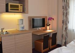 Appartementhotel Hamburg - Hamburg - Ruang tamu