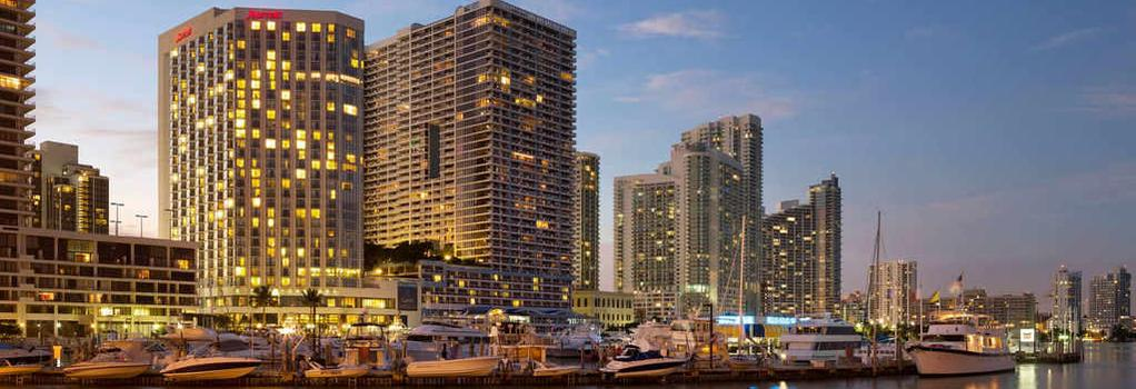 Miami Marriott Biscayne Bay - Miami - Building