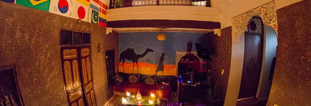 Kammy Hostel - Marrakesh - Lounge