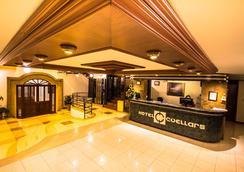 Hotel Cuellars - Pasto - Resepsionis