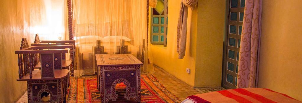 Riad Zinoun & Spa - Marrakesh - Bedroom
