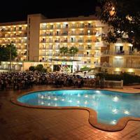 Palma Bay Club Resort Hotel Front - Evening/Night