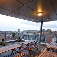 Jacobs Inn Hostel Terrace/Patio