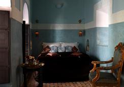 Riad Dar Jaguar - Marrakesh - Kamar Tidur