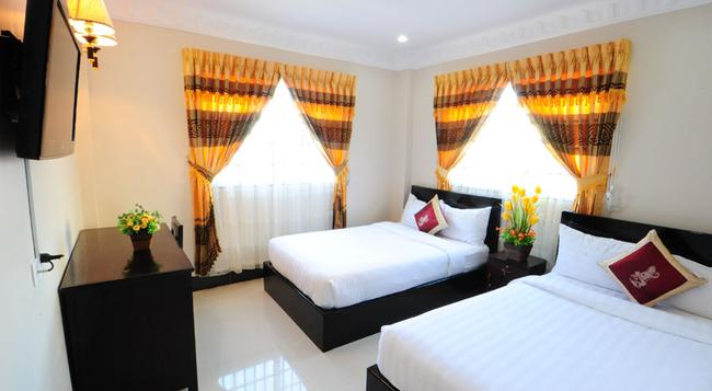 Number 9 Hotel - Phnom Penh - Bedroom
