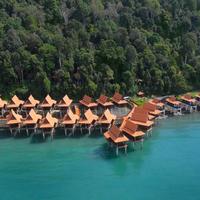 Berjaya Langkawi Resort Aerial View Water Chalets