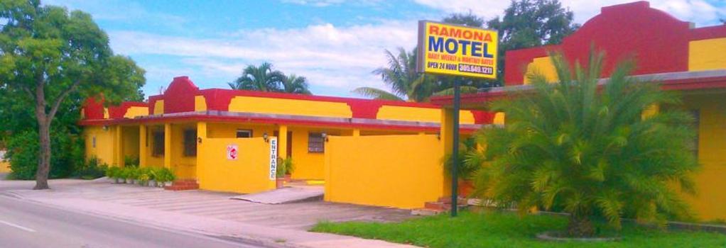 Ramona Motel - Miami - Building