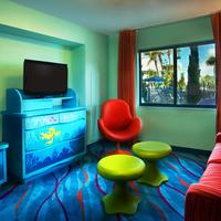 Disney's Art of Animation Resort Living Area