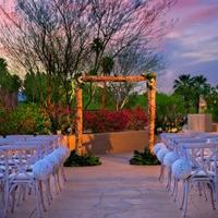 Hyatt Palm Springs Outdoor Wedding Area