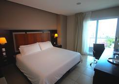 Hotel Perla Spondylus - Manta - Kamar Tidur
