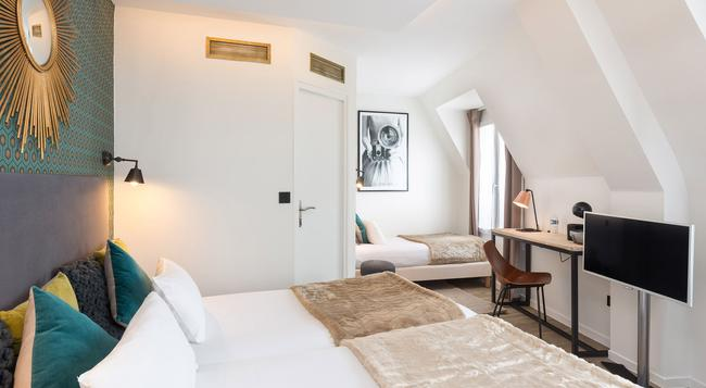 Best Western Hotel Ohm - Paris - Bedroom