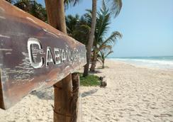 Hotel Cabanas Los Lirios Tulum - Tulum - Pantai