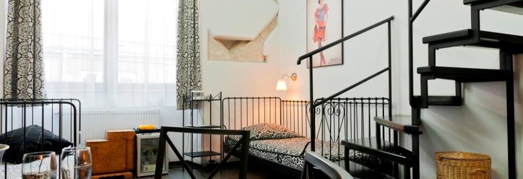 Pergamin Apartments - Krakow - Bedroom