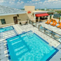 Ramada Plaza Resort and Suites Orlando Internation Rooftop Pool View