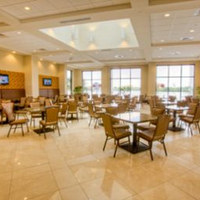 Ramada Plaza Resort and Suites Orlando Internation Breakfast Lounge