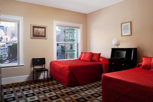 Hotel North Beach - San Francisco - Kamar Tidur
